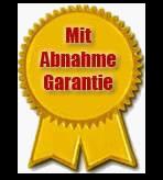 Siegel Abnahme Garantie